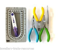 The Beadsmith Beaders Mini Travel Kit Set - Pliers & tools for Jewellery Making