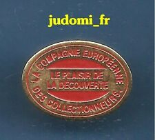 Pin's pin LA COMPAGNIE EUROPEENNE DES COLLECTIONNEURS (ref 017)