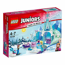 10736 LEGO Juniors Anna & Elsa's Frozen Playground 94 Pieces Age 4-7 New 2017!