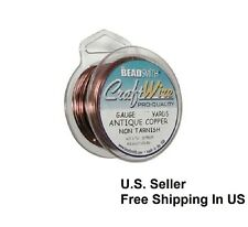 Antique Copper Wire 22 GA  15 Yd Round Dead Soft Non Tarnish (Pack Of 1 )