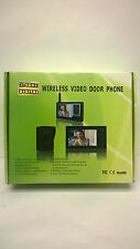 "7"" 2.4GHz Video Home Door bell Digital Phone Doorbell Intercom Security Camera"