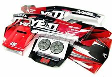1/8 Yeti XL BODY Panels (cover shell Monster Buggy red Painted Axial AX90032