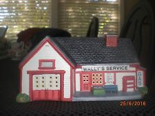 """Hawthorne Welcome to Mayberry Christmas Village""""Wally's Filling/Service Station"""""""