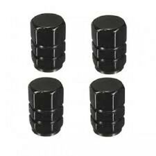 4PCS Black Aluminum Tire Wheel Rims Stem Air Valve Caps  Cover Car Truck Bike