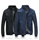 Mens Jacket Summer Lightweight Bomber Coat