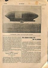 Dirigeable Airship Akron Goodyear-Zeppelin Corporation 1912 ILLUSTRATION