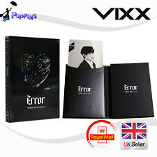 NEW But Factory Seal Missing Never Played VIXX [ERROR] 2nd Mini Album Vol.2