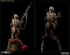Star Wars: Sideshow Mythos BOBA FETT statue - RARE (vader/maul/trooper)