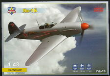 Modelsvit Models 1/48 YAKOVLEV Yak-1B Soviet World War II Fighter