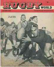 1st EDITION RUGBY WORLD MAGAZINE OCTOBER 1960 EDITION - COLIN MEADS FRONT COVER