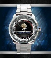 Get New The Knights of Columbus Logo Custom Stainless Steel Metal Watch
