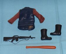 vintage Mego POTA Planet of the Apes SOLDIER APE CLOTHING BOOTS & WEAPONS LOT