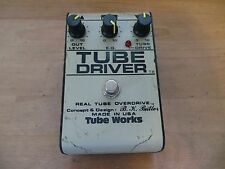 BK BUTLER TUBE WORKS TUBE DRIVER OVERDRIVE EFFECTS PEDAL