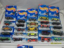 LOT 36 HOT WHEELS MIXED CARS & YEARS RANDOMLY PICKED b