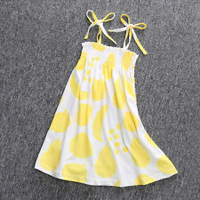 Baby Toddler Girls Princess Party Dress Boho Summer Beach Holiday Sundress 6M-5Y