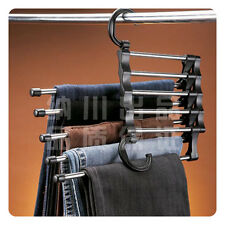 Amazing Pants Trousers Clothes Hanger Rack Space Saver
