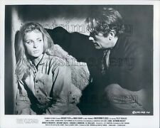 1969 Actors Gregory Peck Camilla Sparv Mackenna's Gold Press Photo