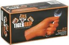 Tiger Grip Orange Nitrile Gloves *Highest Quality Nitrile* EXTRA LARGE