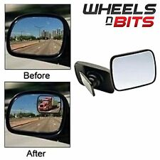 NEW WNB 2 X ADJUSTABLE WIDE ANGLE CAR VAN TRUCK BLIND SPOT MIRRORS WING MIRROR