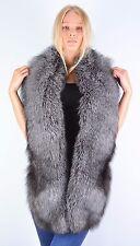 Crafted Saga Furs Blue Frost Fox Shoulder Wrap Scarf Boa Stole