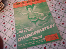 Jane Russell Cherry Pink And Apple Blossom White 1951  Photo Sheet Music