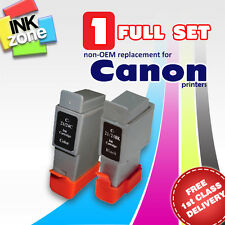 Full Colour Set of non-OEM Ink Cartridges for CANON PIXMA iP1000 iP1500 iP2000
