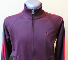 FRED PERRY Jacket Vintage Purple Hipster Outdoor Retro Size UK 14 US 10 EUR42
