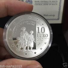2012 Malta Antonio Sciortino Silver Proof Coin Box and Certificate #0615