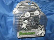 FRANKENWEENIE 2-Figure Movie PVC Set by Disney/Tim Burton ~Wererat/Edgar