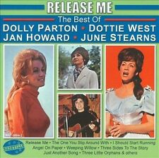 Release Me: The Best of Dolly Parton, Dottie West, ETC. (2) 1963 songs! NEW!!