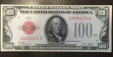 Fantasy Reproduction 1928 $100 Bill United States Note Ben Franklin Currency