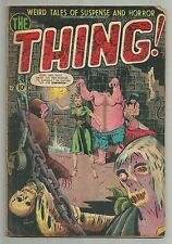 THE THING vol.1 no.5 GOLDEN AGE HORROR SUSPENSE CAPITAL CHARLTON COMIC BOOK 1952