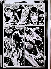JOHN BUSCEMA  SILVER SURFER  CLASSIC 1960-70s MARVEL   ART ACETATE PAGE