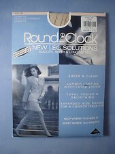 Round the Clock Style 753 New Leg Solutions Pantyhose Size B in Bone