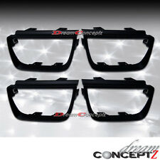 2010-2013 Chevrolet Camaro Bezel for Tail lights NON-GLOSSY Style Flat Black