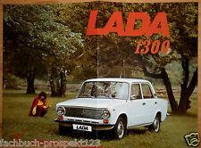 LADA 1300 prospetto 1973 URSS avtoexport Mosca auto d'epoca da collezione
