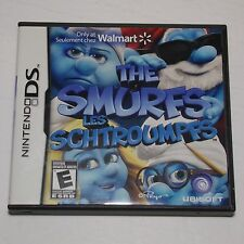The Smurfs - Nintendo DS / DSi / XL / New 3DS English / French Walmart exclusive