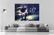 CRISTIANO RONALDO REAL MADRID CR7 Wall Art Poster Grand format A0 Large Print