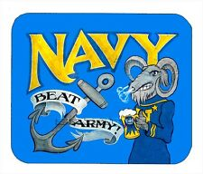 Item#1148 Navy Beat Army Vintage Mouse Pad