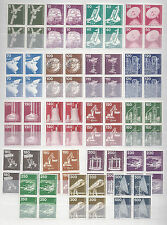 Germany Berlin**TECHNOLOGY& INDUSTRY-23 BLOCKS@4stamps-1975/82-Catval 155€/175$