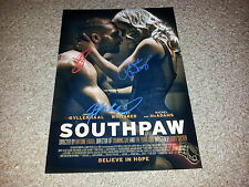 "SOUTHPAW PP SIGNED 12""X8"" A4 PHOTO POSTER JAKE GYLLENHAAL FOREST WHITAKER"