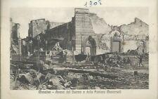 Messina - Avanzi del Duomo e della Fontana Montorsoli - Viaggiata 1908 Terremoto