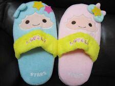 Little Twin Stars Plush Slippers keepwarm US=6-7.5, U.K=4-5 ~ Free Shippjng
