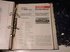 NORDMENDE Service Manual schemi elettrici radio 1 pezzi scegliere/CHOOSE 1 piece!!!
