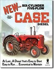 Case - 500 Diesel Metal Tin Sign Wall Plaque 300mm x 400mm