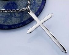 Excellent tip of the cross Women & Men 925 Sterling Silver Pendant Jewelry H192