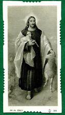 Santino antico GESU' BUON PASTORE HOLY CARD- IMAGE PIEUSE