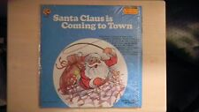 Merry Children's Records SANTA CLAUS IS COMING TO TOWN LP 1960