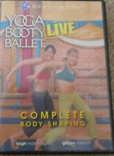 Yoga Booty Ballet Live Complete Body Shaping Workout Dancing Fitness Exercise DV