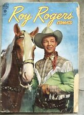 Roy Rogers Comics #9-1948 photo cover Trigger - western/tv series